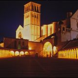 Assisi-SanFrancesco-Nacht