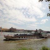 Prag-Moldauschiff-Kampa