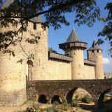 Carcassonne-Festung-Vormittag