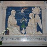 La-Verna-Italien-Klosterkirche-Kermamikkunst-Verkndigung-2009-Bild-Barbara-Ludwig