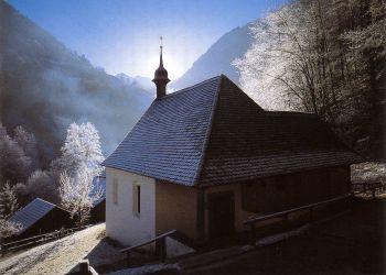 Ranftkapelle Wintermorgen