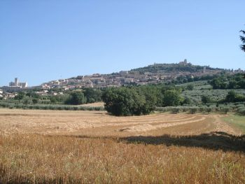 Assisi Ebene Stadtansicht8