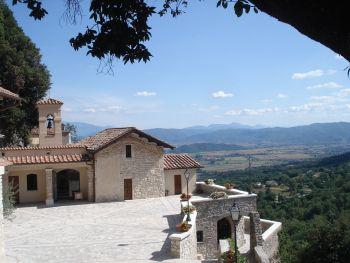 Greccio Kloster Rietital1