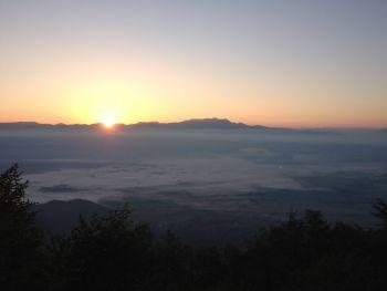 Rietital Cappelletta sunrise
