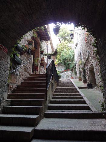 Assisi Treppen SStefano