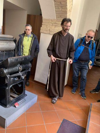 Assisi2019 ChrMartin Brizzi Druckerpresse