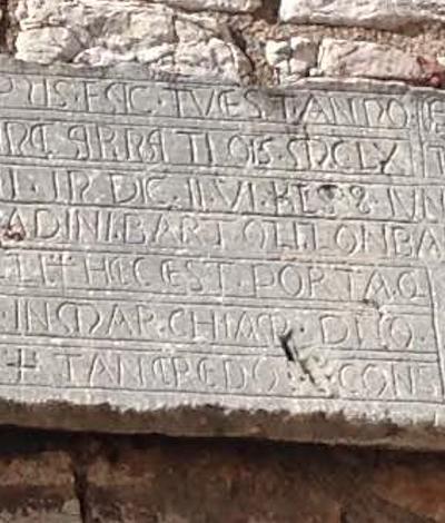 PortaPerlici Torinschrift