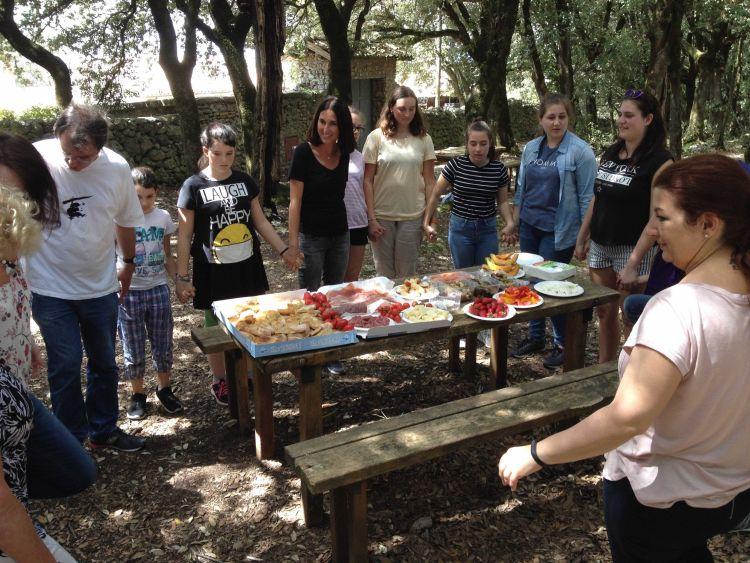 Assisi Familien2018 Spoleto Monteluco19