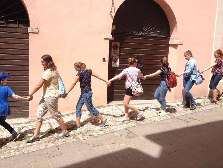 Assisi Familien2018 Spoleto1
