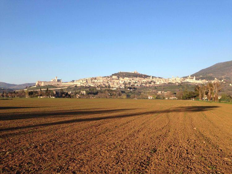 Assisi Panorama Ebene4