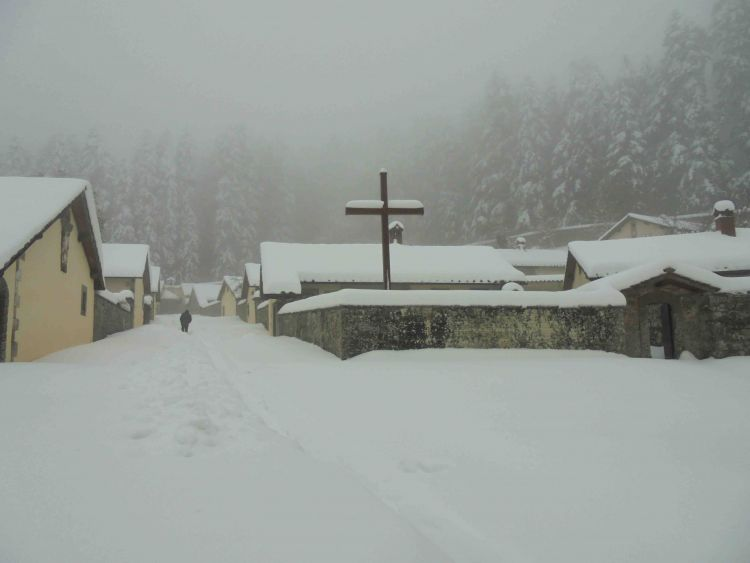 Camaldoli Eremo Winter2017Nov15a