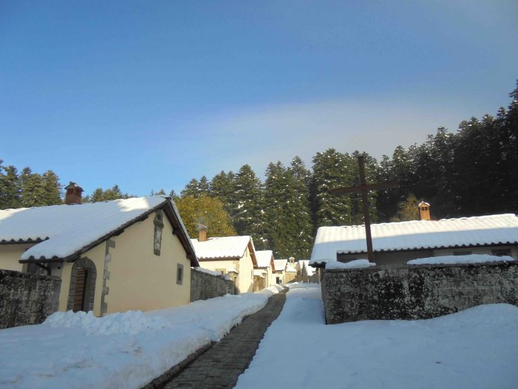 Camaldoli Eremo Winter2017Nov17c